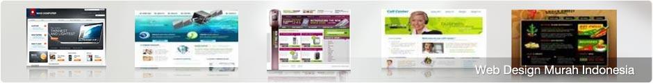 Web Design Murah Indonesia Isi Bisa Update Sendiri