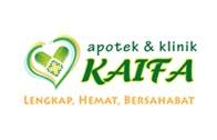 Logo Apotek dan Klinik Kaifa