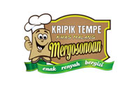 Logo Kripik Tempe Mergosonoan Khas Malang