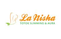 Logo La Nisha Slimming Totok Aura