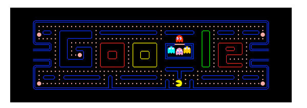 Logo Google Pac Man Games