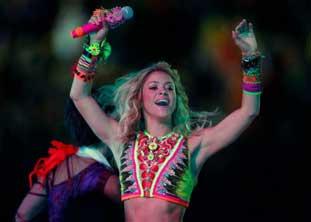 Penampilan Shakira Di Afrika Selatan