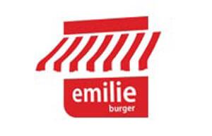 Desain Logo Perusahaan Emilie Burger