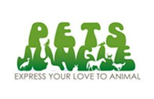 Logo Perusahaan Pet's Jungle