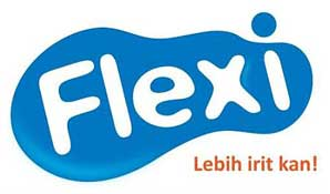 Logo Baru Telkom Flexi Broadband