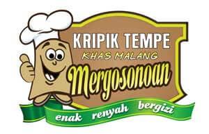 Logo Kripik Tempe Khas Malang Mergosonoan