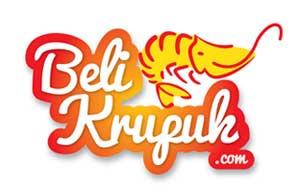 Logo Perusahaan BeliKrupuk.com Pada Kemasan Produk