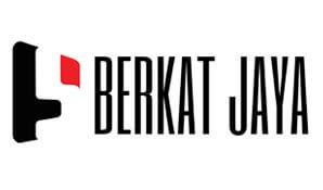 Logo Merek Baru Berkat Jaya Grop Pangkalpinang