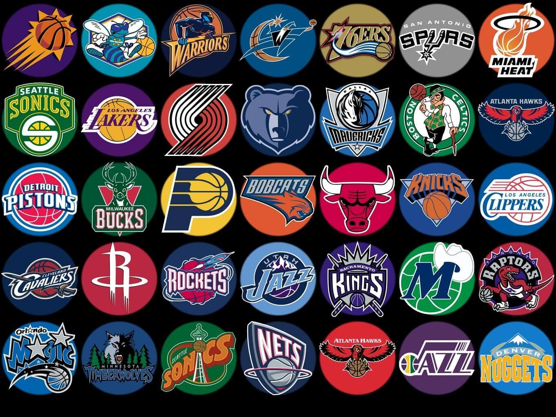 Logo Klub dan Team Olahraga Bola Basket